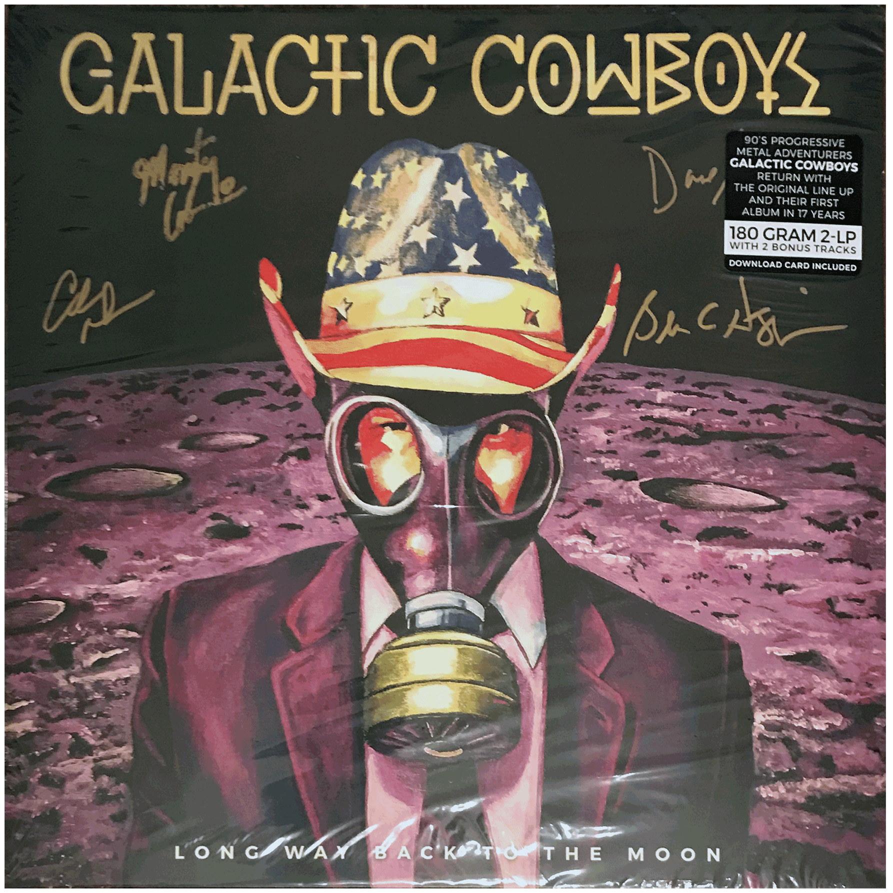 Long Way Back To The Moon - Autographed LP